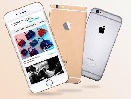 Refurbished iPhone 6 16gb £279 @ Secret sales
