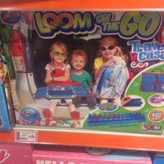 Loom on the go in The Toy Shop travel case reduced from £15 to £1.00
