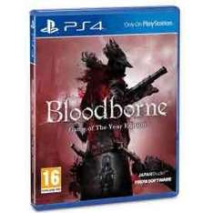 Bloodborne Game Of The Year (GOTY) (PS4) £22.99 @ 365 games