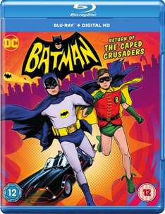 Batman: Return of the Caped Crusaders [Blu-ray+Digital HD] £7 in store @ Fopp (£6 in 5 for £30 @ Hmv, £8.99 on its own / Free C+C  / £10.99 incl Delivery)