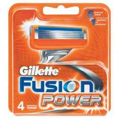 Gillette Fusion Power blades 4 pack £9.49 instore @ Tesco