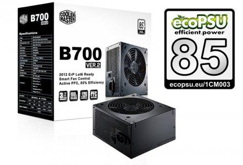 Cooler Master B Series B700 ver.2 PSU - 700W - Ebuyer for £51.15 delivered