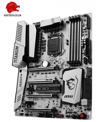 MSI Z270 Titanium Gaming Xpower £299.99 + free Headset (RRP: £60) + £20 Cashback + Free Shipping @ Ebuyer