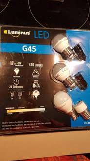 LED - E14 and E27 instore at Costco Chingford for £8