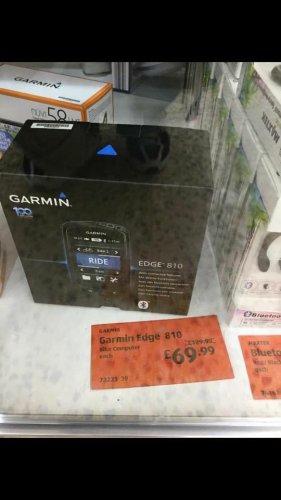 Garmin edge 810, cycling GPS @ Aldi