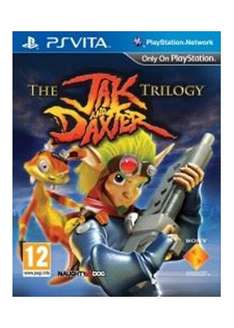 Jak and daxter HD trilogy for ps vita £13.99 at Base.