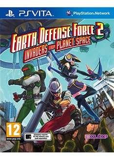 Earth defence force 2 invaders from planet space ps vita £9.85 at Base