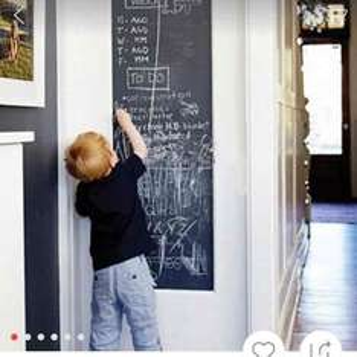 chalk board strips from AliExpress for £3.71