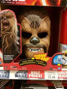 electronic chewbacca mask - toys r us £17.49 (in-store)