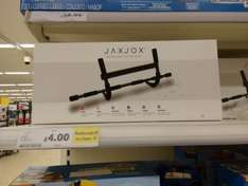 jaxjox door and floor gym instore (Isleworth) at Tesco for £4