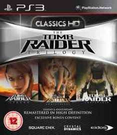 Tomb Raider Trilogy (PS3) £6.74 preowned @ GAME