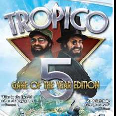 Tropico 5 Game Of The Year Edition PC DVD Windows 8 £3.99 Prime / £5.98 Non Prime @ Amazon (Sold by Rush Gaming and Fulfilled by Amazon)