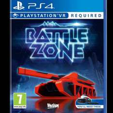 Battlezone VR PS4 only €22.31 on amazon.it (£23 inc Del)