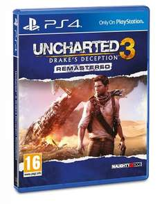 Uncharted 3 Drakes Deception Remastered PS4 £9.99 Prime / £11.98 Non Prime @ Amazon