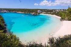 From East Midlands: 11 Nights in Menorca with Car Hire £195.19pp @ Alpharooms £390.39
