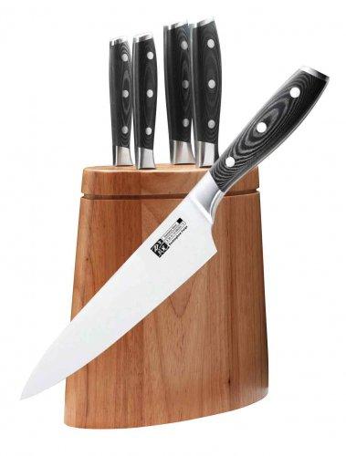 6 Knife Set & Wooden Block 67% Off £49.98 @ Kitchen knives (shipping £4 under £50)