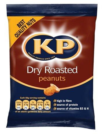 1KG Bag of KP Dry Roasted peanuts - £1.99 @ B&M