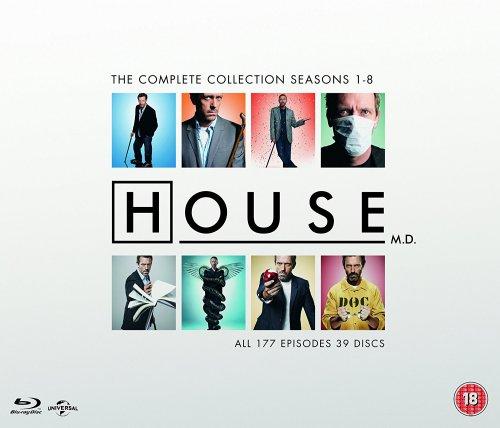 House: Complete Seasons 1-8 Blu-Ray Box Set £32.99 including free delivery @ zavvi