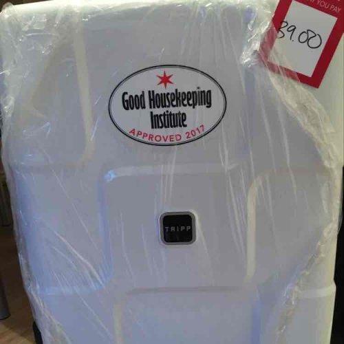 Tripp 'World' 4 wheel white suitcase medium size was £150 now £39 @ Debenhams