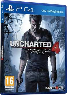 Uncharted 4: A Thief's End PS4 £22 @ Tesco direct