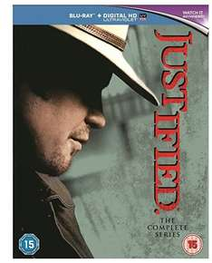 Justified Complete Series BluRay Box Set £32.99 @ Amazon