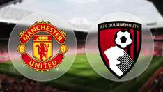 Manchester United vs Bournemouth - Sky Sports Mix - Sat 4th March - Free for Sky TV/Virgin customers