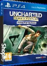 Uncharted: Drakes Fortune / Among Thieves / Drakes Deception - Remastered (PS4) £9.85 Each Delivered @ Shopto