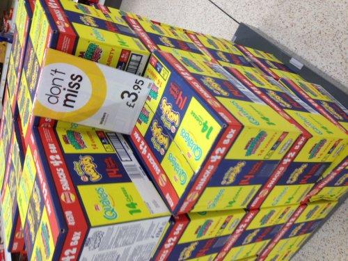 42 bags of crisps multibox (Quavers, Monster Munch Wotsits) £3.95 @ Wilko