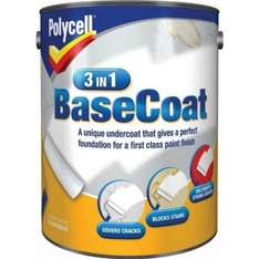Polycell 3-in-1 undercoat Tesco instore 2.5 litres £3