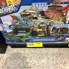 thunderbirds interactive Tracy island @ home bargains instore Oldham - £19.99