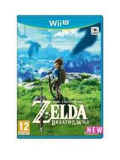 Zelda-Breath of the wild Wii U £30 @ Very (minimum spend £60) with code for new customers