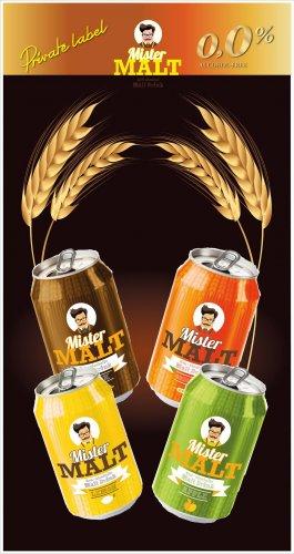 Mr Malt Non Alcoholic malt drinks 330ml 19p @ Home bargains