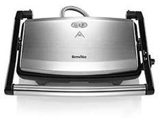 Breville VST049 Cafe Style Sandwich Press  £16 (Prime) / £20.75 (non Prime) at Amazon