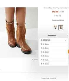 Glitch? code EXTRA20 still working @ new look online -  Boots in pic are £12 with code £9.60 and available in sizes 3-8