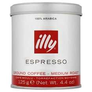 Illy Ground Coffee Dark and Medium Roast 125g - £2.00 ASDA