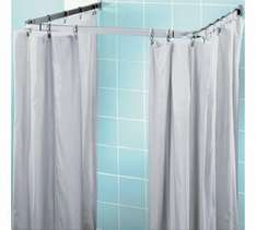 HOME Shower Frame and Curtain Set £4.99 Was £12.99 Argos (Free C&C)