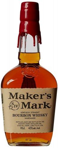 Maker's Mark Bourbon Whiskey, 70 cl - Amazon - £19.83  (Prime) / £24.58 (non Prime) at Amazon