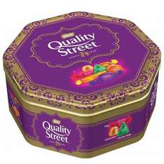 Quality Street 1.31kg tin was £5.99 now  £2.99 @ B&M
