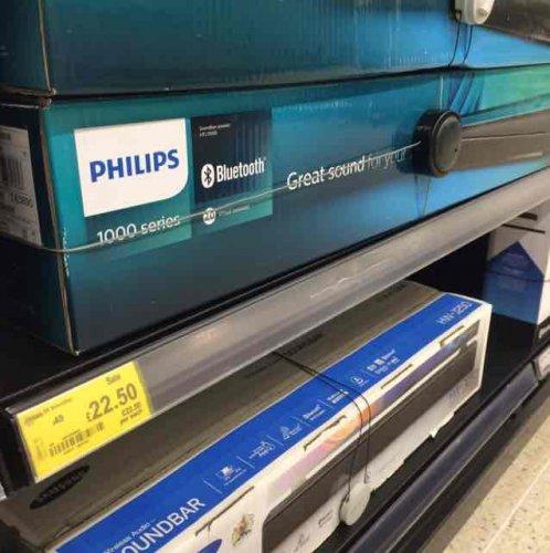Philips HTL-1190B soundbar - £22.50 -in store  at ASDA (Queensferry)