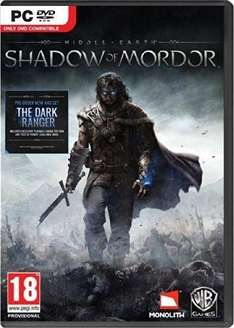 Middle-earth: Shadow of Mordor Game of the Year Edition PC (£3.13 with cdkeys 5% fbook like code )