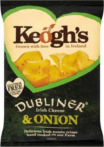 Keogh's Potato Crisps - Dubliner Irish Cheese & Onion / Keogh's Potato Crisps - Atlantic Sea Salt & Irish Cider Vinegar (125g) was £2.00 now any 2 packs for the price for of 1 @ Tesco