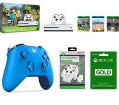Microsoft Xbox One S with Minecraft Gaming Bundle £218.99 at Currys