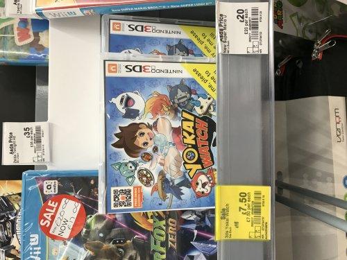Yo Kai Watch 3DS £7.50 @ Asda Wakefield Durkar