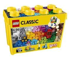 LEGO Classic Large Creative Brick Box 10698 from Tesco Direct only £27.99 (Free C&C)