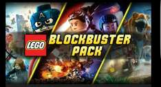 lego blockbuster pack force awakens, jurassic world, avengers @ bundle stars - £8.59