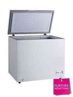 Swan 190-Litre Chest Freezer - White - £126.98 @ Very