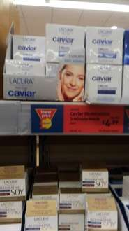 Lacura  Caviar 3 minute mask rdeduced to £4.99 in store Aldi