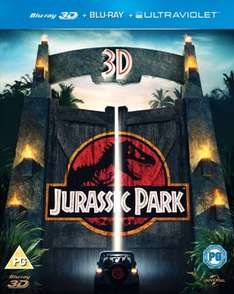 [Blu Ray] Jurassic Park (3D Edition with 2D Edition + UltraViolet Copy) - £4.95 - Zoom