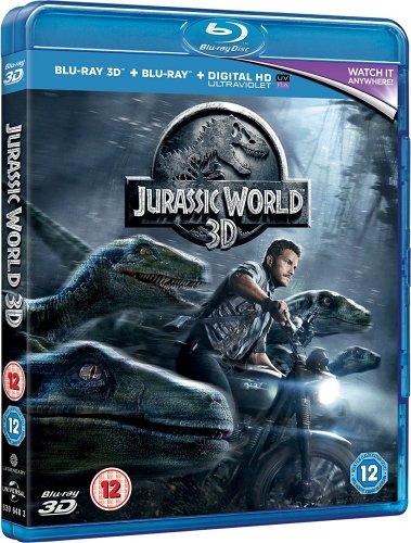 Jurassic World (Blu-ray 3D + Blu-ray) [2015] £3.99 prime / £5.98 non prime @ Amazon