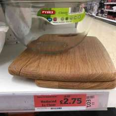 Pyrex bowl £2.75 @ Sainsbury's Hendon
